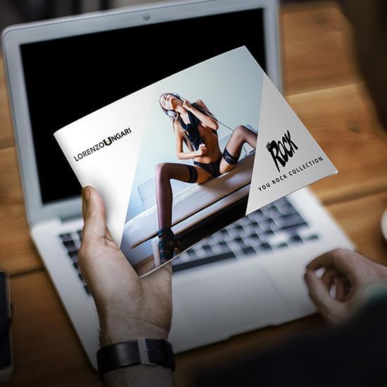 Brochure <b> Depliant per Gioielli Agriturismo Aziende</b>