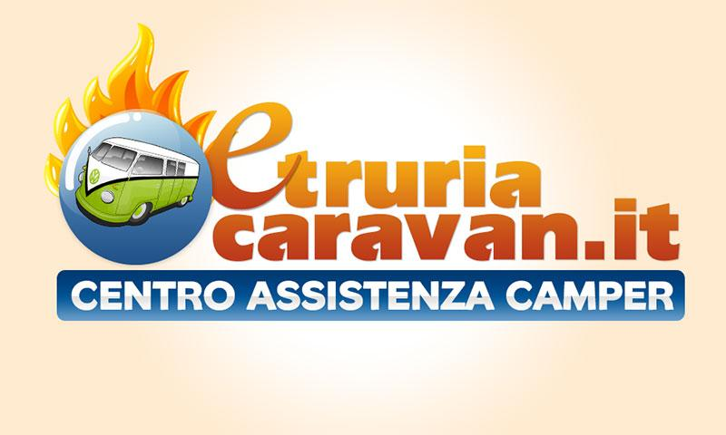 Progetto grafico del logo per un centro assistenza di camper ad Arezzo