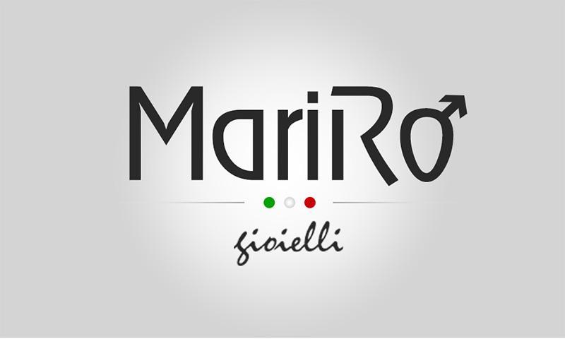 grafica logo per azienda di gioielli in acciaio per uomo