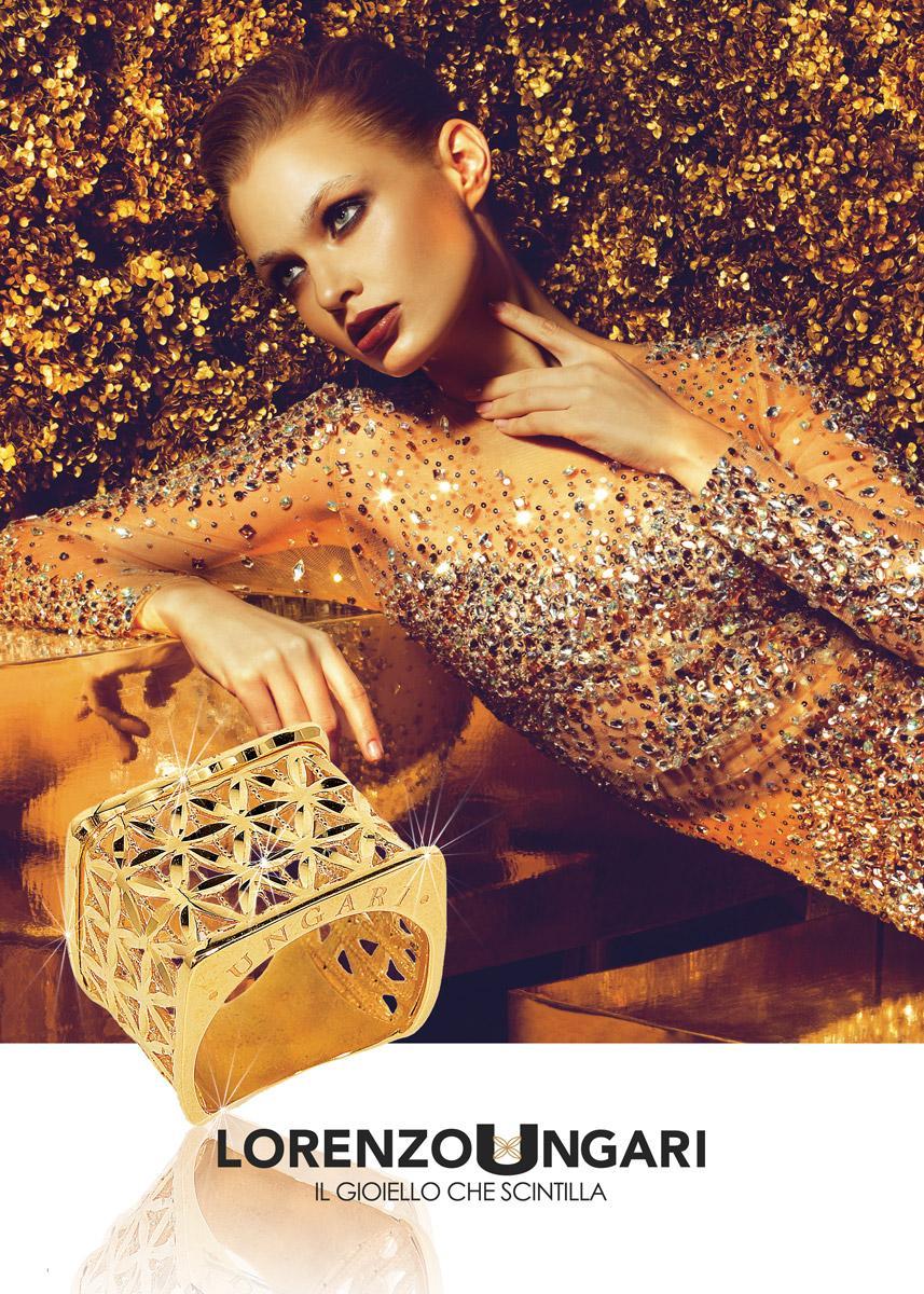 foto pubblicità a gioielli ad arezzo