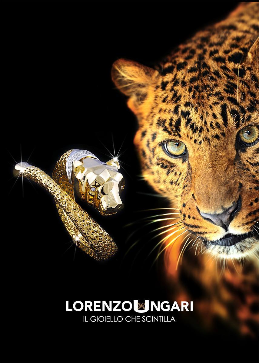 Pubblicità con foto Gioiello in oro e diamanti ad Arezzo