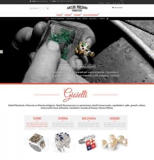 Realizzazione sito web ecommerce per la vendita gioielli in argento a firenze