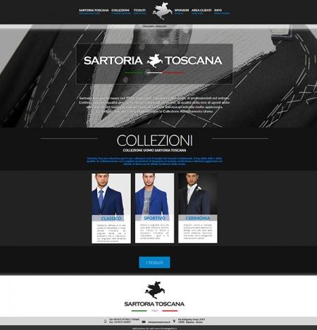 Sito web per Sartoria ad arezzo in Toscana