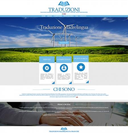 realizzazione Sito Web per Traduzione madrelingua francese