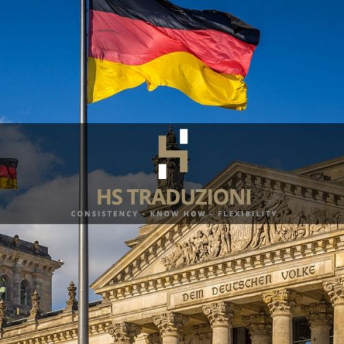 Realizzazione sito web per HS Traduzioni: traduzioni dal tedesco all'italiano